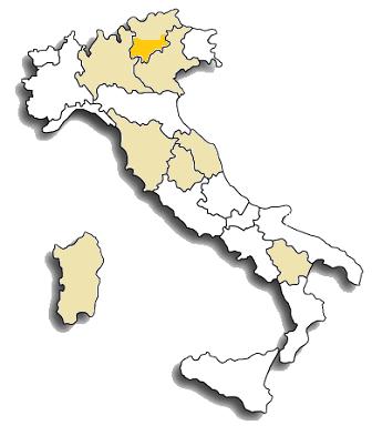 Teroldego - area di diffusione
