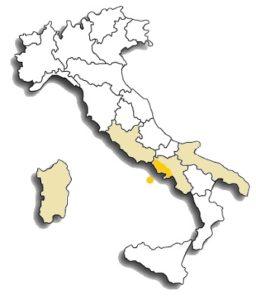 Biancolella vitigno zona di diffusione