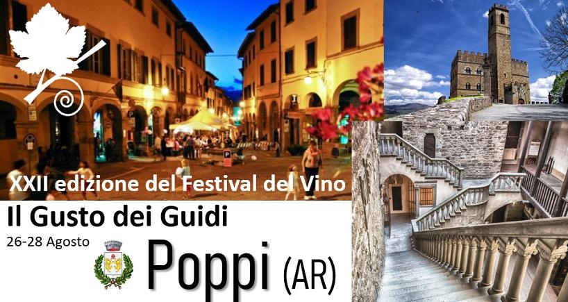 Festival del Vino Il gusto dei guidi a Poppi 2018