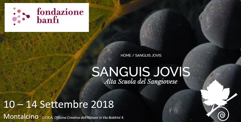 Sanguis Jovis - Alta Scuola del Sangiovese - Fondazione Banfi