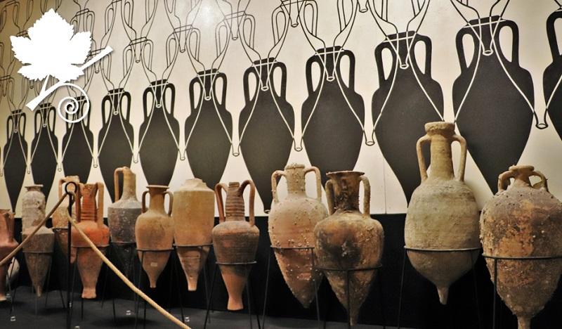 Museo del Vino di Torgiano MUVIT - anfore romane