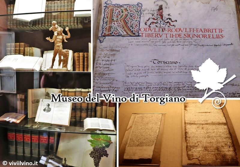 Museo del Vino di Torgiano - documentazione storica