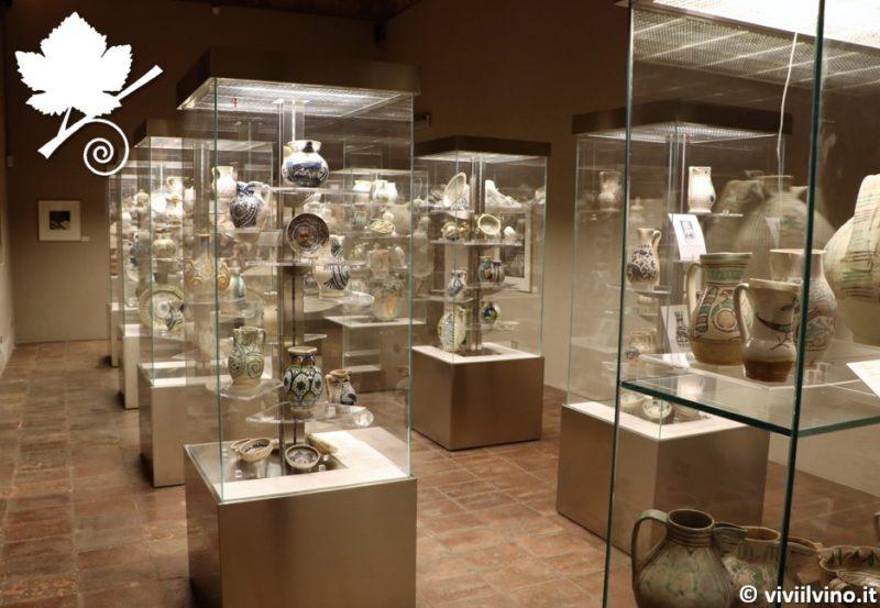 Museo del Vino - la sala delle ceramiche