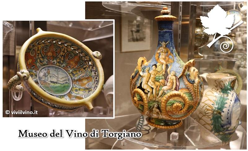 Museo del Vino - le ceramiche popolari