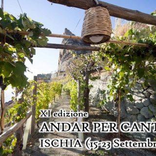 XI edizione Andar per cantine Ischia 15-23 settembre 2018