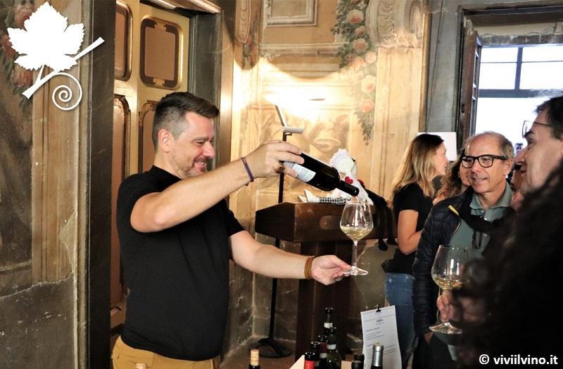 Villaggio dei vini d'Italia Foligno 2018 - Alberto Gugliada Bicerìn Milano