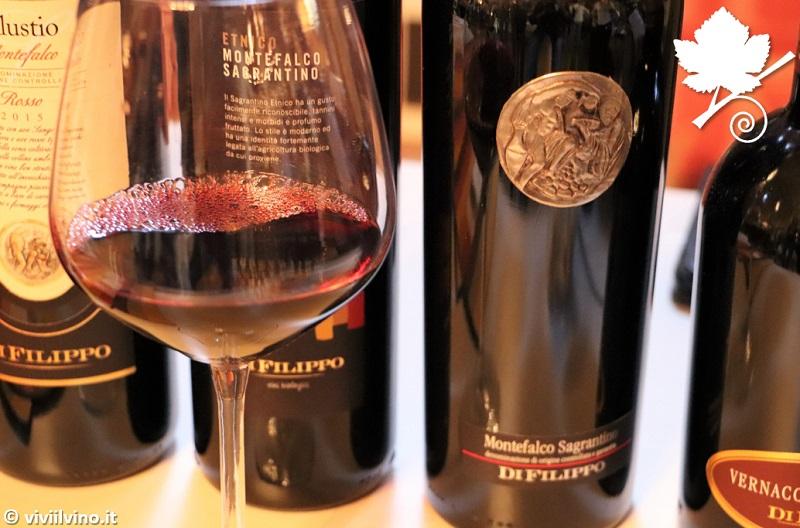 Villaggio dei vini d'Italia Foligno 2018 - Cantina Di Filippo - Montefalco Sagrantino