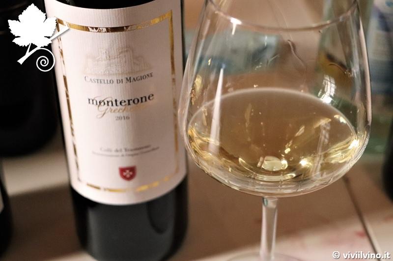 Villaggio dei vini d'Italia Foligno 2018 - Monterone Grechetto Colli del Trasimeno Castello di Magione