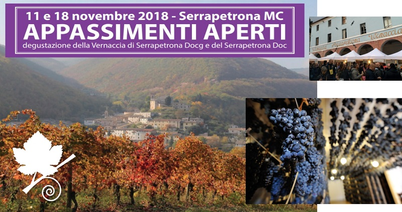 Appassimenti Aperti 2018 Serrapetrona