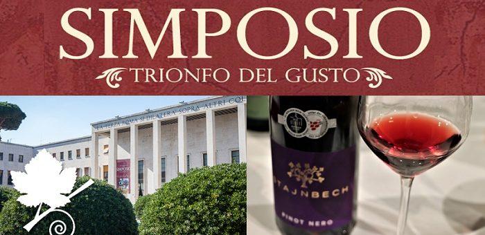 Simposio 2018 Roma il trionfo del gusto