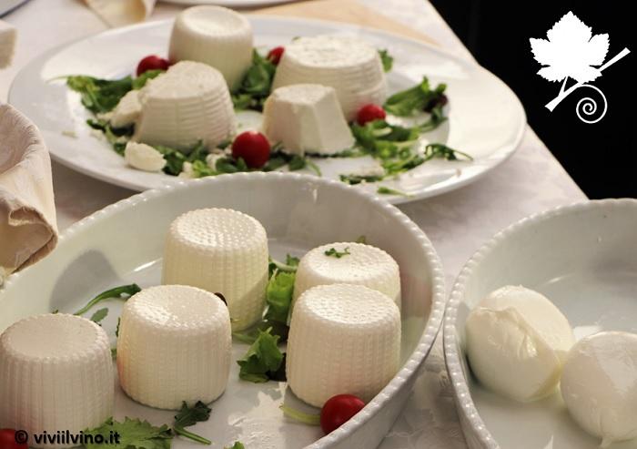 Giro d'Italia 2018 Rieti - Molti latticini e formaggi tra i prodotti tipici