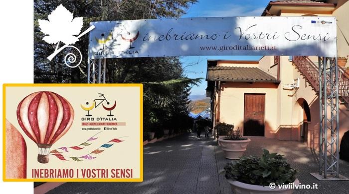 Giro d'Italia 2018 Rieti - vino dopo vino come le tappe di Italia