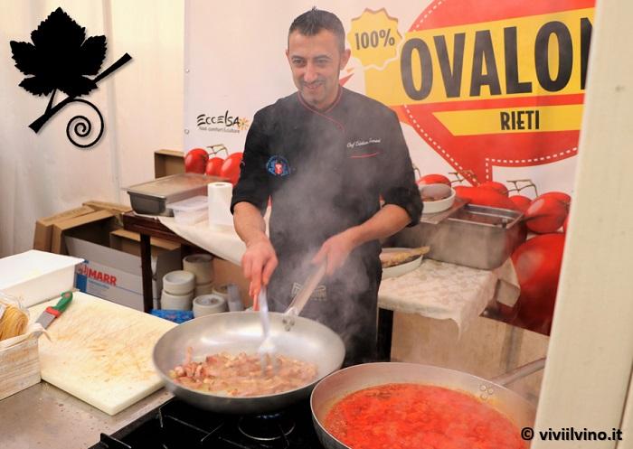 Giro d'Italia 2018 - Ristorante La Foresta Rieti - spaghetti alla amatriciana
