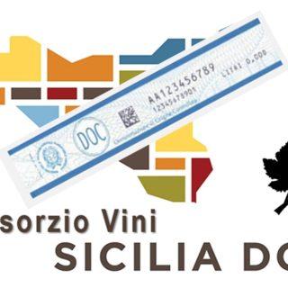 Contrassegno di stato DOC sui vini Sicilia DOC