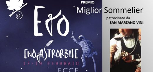 EGO EnoGastrorbite Festival Premio miglior sommelier