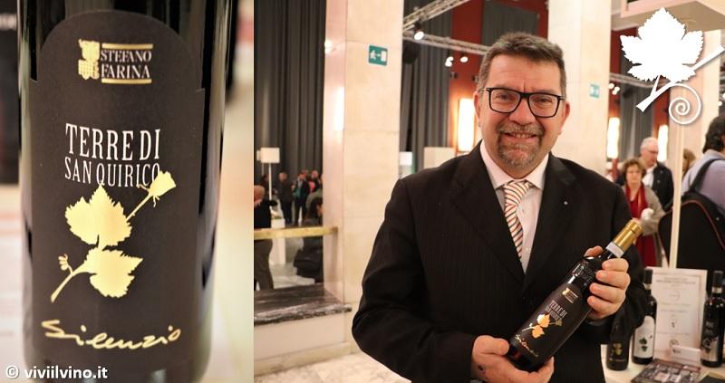 I Migliori Vini Italiani Roma 2019 - Stefano Farina Terre di San Quirico Silenzio Barbera d'Alba DOC