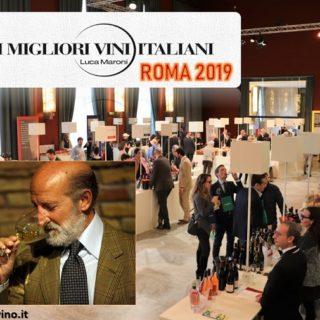 I Migliori Vini Italiani Roma 2019 di Luca Maroni al Salone delle Fontane