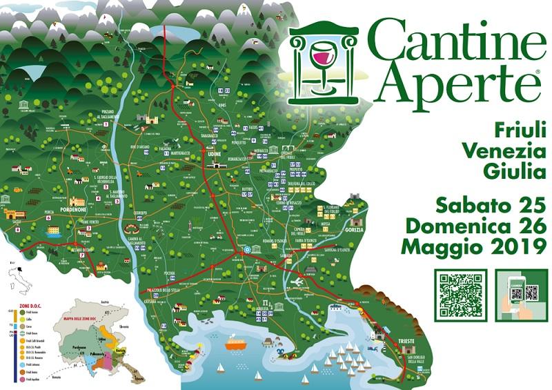 Cantine Aperte 2019 Friuli Venezia Giulia - Elenco delle cantine aderenti 2