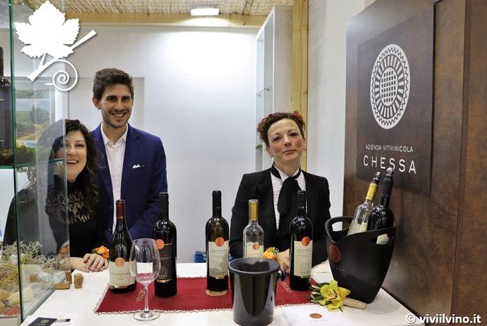 Vinitaly 2019 Sardegna - Azienda Vitivinicola Chessa stand