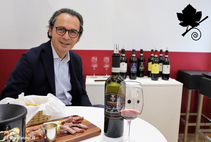 Vinitaly 2019 Toscana - Cantina Contucci stand
