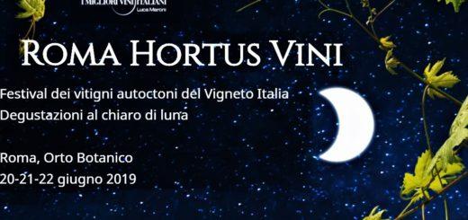 Roma Hortus Vini - I migliori Vini Italiani 2019
