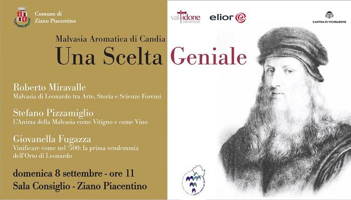 Malvasia aromatica di Candia - Valtidone - Una scelta geniale