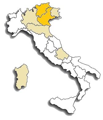 marzemino - area di diffusione vitigno