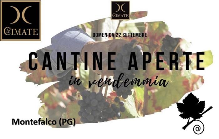 Cantine aperte in Vendemmia 2019 con Le Cimate
