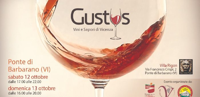 Gustus Vini e Sapori di Vicenza 2019