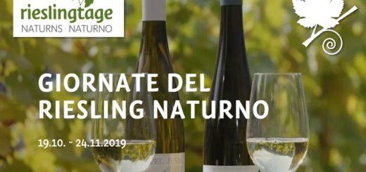 Le giornate del Riesling 2019 - Naturno