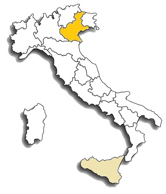 glera (prosecco) area di diffusione
