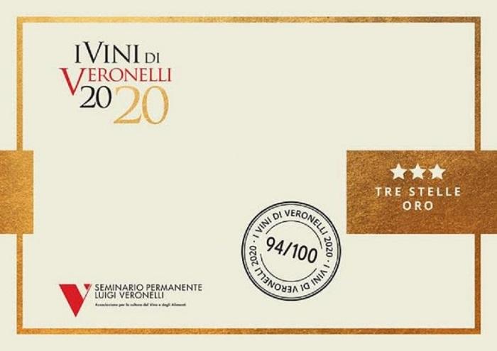 I vini di Veronelli 2020 Tre Stelle Oro