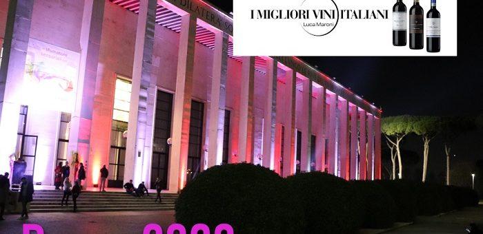 I Migliori Vini Italiani di Luca Maroni Roma 2020 Alcuni vini presentati
