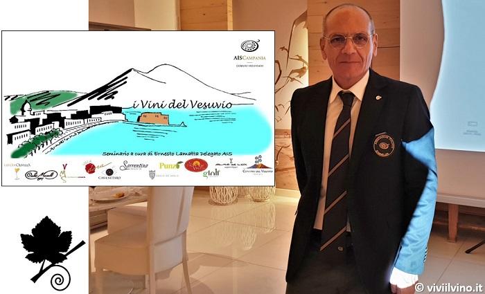I Vini del Vesuvio - Delegato AIS Campania Ernesto Lamatta.