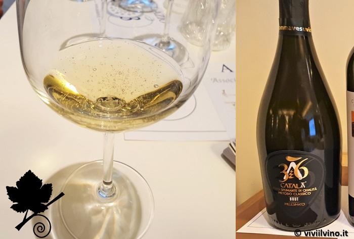 I vini del Vesuvio - Català36 Spumante Metodo Classico Montesomma Vesuvio
