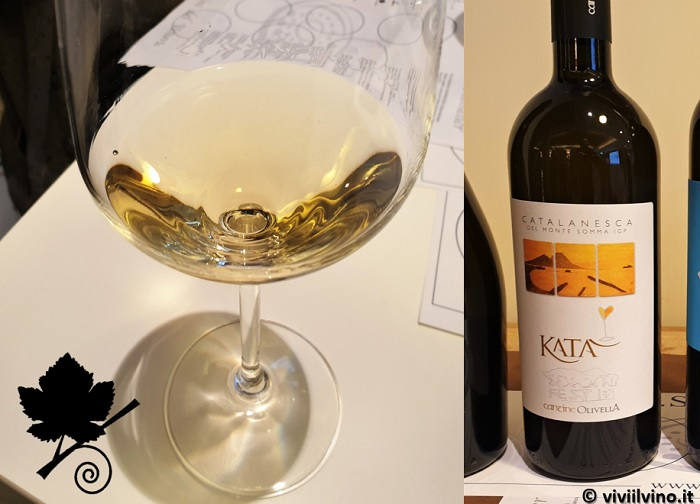 I vini del Vesuvio - Catalanesca del Monte Somma IGP - Katà Cantine Olivella
