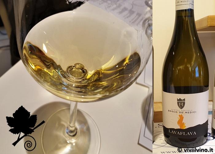 I vini del Vesuvio - Lacryma Christi del Vesuvio DOC Bianco - Lavaflava - Bosco de' Medici