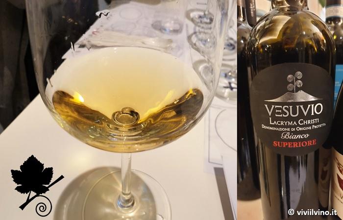 I vini del Vesuvio - Lacryma Christi del Vesuvio DOC Bianco Superiore 2018 - Cantina del Vesuvio