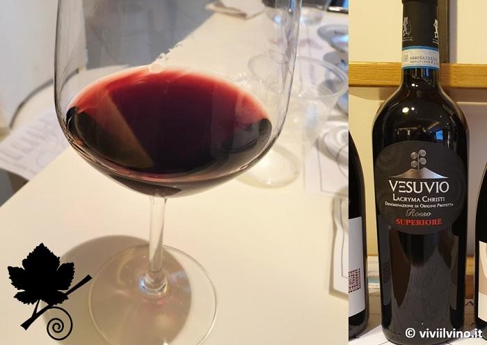 I vini del Vesuvio - Lacryma Christi del Vesuvio DOC Rosso 2019 - Cantina del Vesuvio