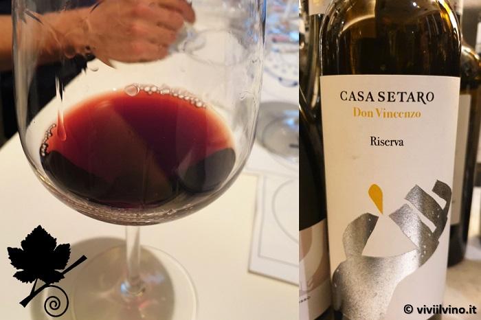 I vini del Vesuvio - Lacryma Christi del Vesuvio DOC Rosso Riserva - Don Vincenzo - Casa Setaro
