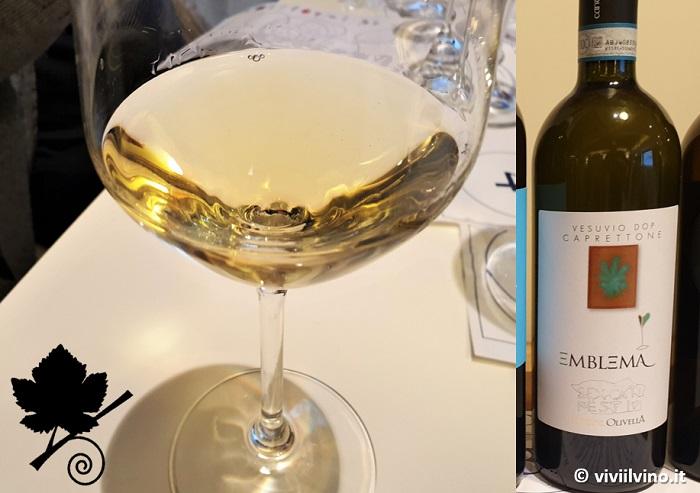 I vini del Vesuvio - Vesuvio DOC Bianco Emblema Cantina Olivella