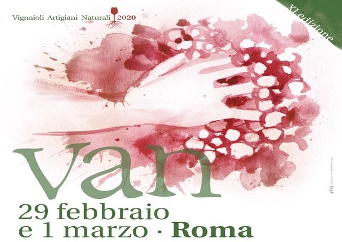 Van - la fiera dei Vignaioli Artigiani Naturali Roma 2019