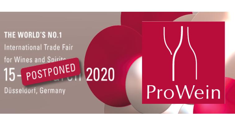 ProWein 2020 rimandato per coronavirus
