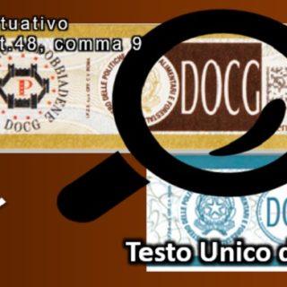 Testo Unico del Vino - firmato il decreto attuativo per i Contrassegni vini DOCG e DOC