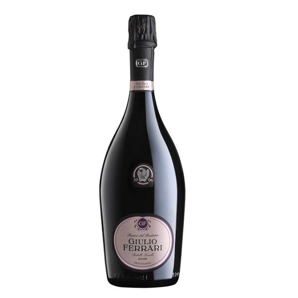 Trento DOC Metodo Classico Extra brut Rosè Riserva del Fondatore Giulio Ferrari