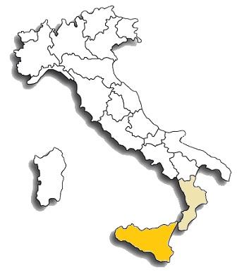 nerello mascalese - area di diffusione del vitigno