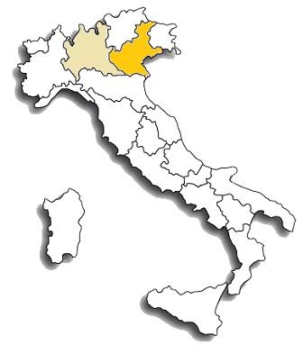 rondinella - area diffusione del vitigno