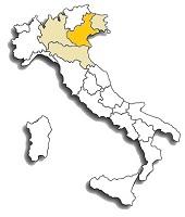 Raboso - area di diffusione del vitigno