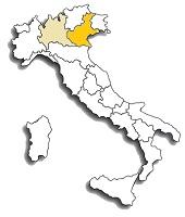Corvina - area di diffusione del vitigno