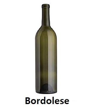 Bottiglia bordolese